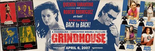 Grindhouse, banner impresionante